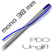 UNGLIFT PDO - - 38 mm mono revitalizante pack 20 hilos